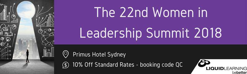 22nd Women in Leadership and Management Summit 2018