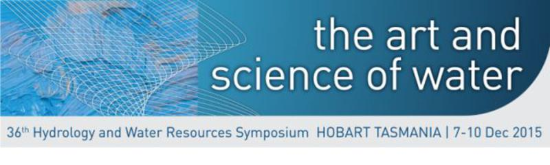 36th Hydrology and Water Resources Symposium - HWRS 2015